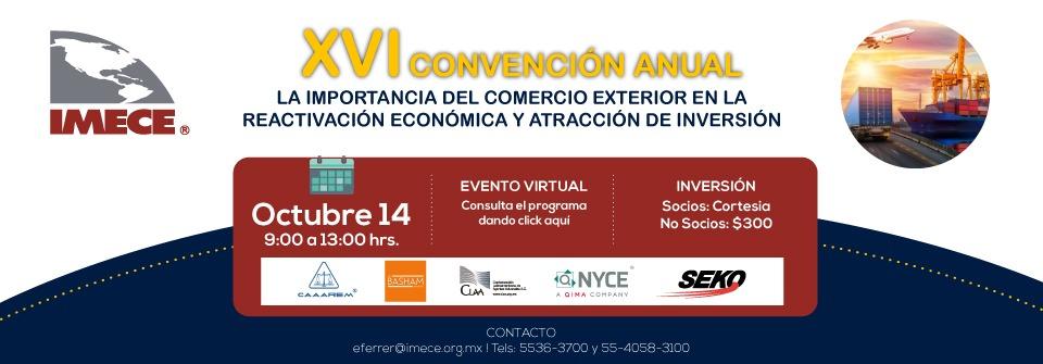 XVI Convención Anual IMECE A.C 2021