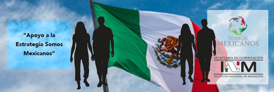 """""""Apoyo a  la Estrategia Somos Mexicanos"""""""